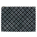 WOVEN2 BLACK MARBLE & ICE CRYSTALS (R) Cosmetic Bag (XXL)