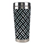 WOVEN2 BLACK MARBLE & ICE CRYSTALS (R) Stainless Steel Travel Tumblers