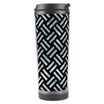 WOVEN2 BLACK MARBLE & ICE CRYSTALS (R) Travel Tumbler