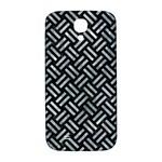 WOVEN2 BLACK MARBLE & ICE CRYSTALS (R) Samsung Galaxy S4 I9500/I9505  Hardshell Back Case