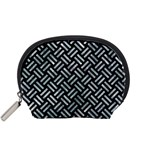 WOVEN2 BLACK MARBLE & ICE CRYSTALS (R) Accessory Pouches (Small)