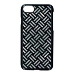 WOVEN2 BLACK MARBLE & ICE CRYSTALS (R) Apple iPhone 7 Seamless Case (Black)
