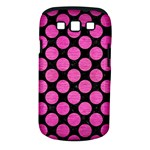 CIRCLES2 BLACK MARBLE & PINK BRUSHED METAL (R) Samsung Galaxy S III Classic Hardshell Case (PC+Silicone)