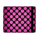 CIRCLES2 BLACK MARBLE & PINK BRUSHED METAL (R) Samsung Galaxy Tab Pro 8.4  Flip Case