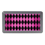 DIAMOND1 BLACK MARBLE & PINK BRUSHED METAL Memory Card Reader (Mini)