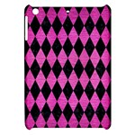 DIAMOND1 BLACK MARBLE & PINK BRUSHED METAL Apple iPad Mini Hardshell Case