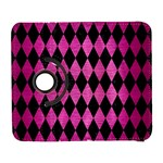 DIAMOND1 BLACK MARBLE & PINK BRUSHED METAL Galaxy S3 (Flip/Folio)