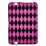 DIAMOND1 BLACK MARBLE & PINK BRUSHED METAL Kindle Fire HD 8.9