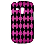 DIAMOND1 BLACK MARBLE & PINK BRUSHED METAL Galaxy S3 Mini
