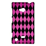 DIAMOND1 BLACK MARBLE & PINK BRUSHED METAL Nokia Lumia 720