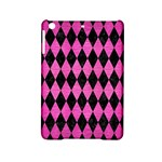 DIAMOND1 BLACK MARBLE & PINK BRUSHED METAL iPad Mini 2 Hardshell Cases