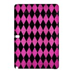 DIAMOND1 BLACK MARBLE & PINK BRUSHED METAL Samsung Galaxy Tab Pro 10.1 Hardshell Case