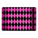 DIAMOND1 BLACK MARBLE & PINK BRUSHED METAL Samsung Galaxy Tab Pro 10.1  Flip Case