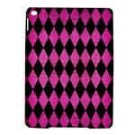 DIAMOND1 BLACK MARBLE & PINK BRUSHED METAL iPad Air 2 Hardshell Cases