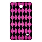 DIAMOND1 BLACK MARBLE & PINK BRUSHED METAL Samsung Galaxy Tab 4 (7 ) Hardshell Case
