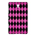 DIAMOND1 BLACK MARBLE & PINK BRUSHED METAL Samsung Galaxy Tab S (8.4 ) Hardshell Case