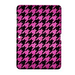 HOUNDSTOOTH1 BLACK MARBLE & PINK BRUSHED METAL Samsung Galaxy Tab 2 (10.1 ) P5100 Hardshell Case