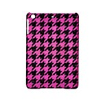 HOUNDSTOOTH1 BLACK MARBLE & PINK BRUSHED METAL iPad Mini 2 Hardshell Cases