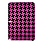 HOUNDSTOOTH1 BLACK MARBLE & PINK BRUSHED METAL Samsung Galaxy Tab Pro 12.2 Hardshell Case