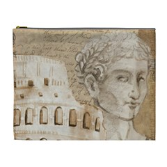 Colosseum Rome Caesar Background Cosmetic Bag (xl)