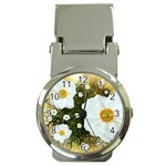 Summer Anemone Sylvestris Money Clip Watches Front