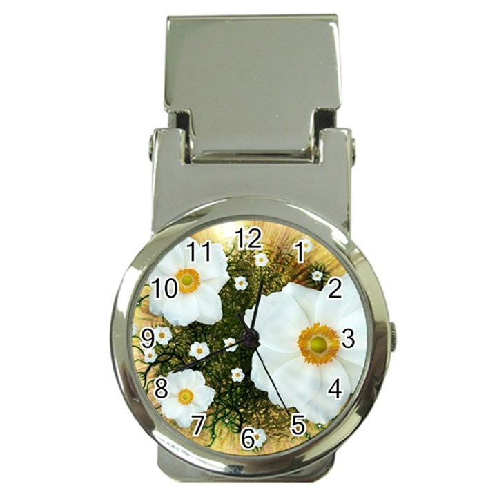 Summer Anemone Sylvestris Money Clip Watches