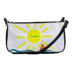 Summer Beach Holiday Holidays Sun Shoulder Clutch Bags by Celenk