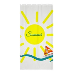 Summer Beach Holiday Holidays Sun Shower Curtain 36  X 72  (stall)  by Celenk