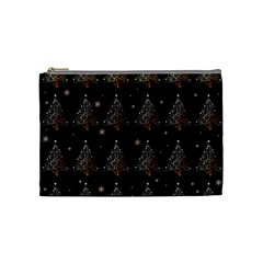 Christmas Tree   Pattern Cosmetic Bag (medium)