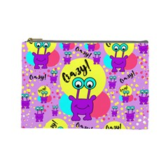 Crazy Cosmetic Bag (large)  by gasi