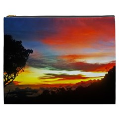 Sunset Mountain Indonesia Adventure Cosmetic Bag (xxxl)  by Celenk