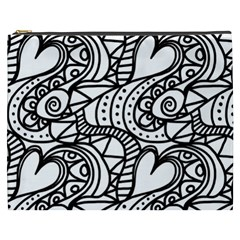 Seamless Tile Background Abstract Cosmetic Bag (xxxl)  by Celenk