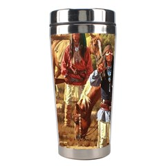 Apache Braves Stainless Steel Travel Tumblers by allthingseveryone