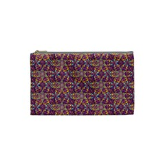 Flower Kaleidoscope 2 01 Cosmetic Bag (small)  by Cveti