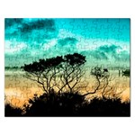 Trees Branches Branch Nature Rectangular Jigsaw Puzzl Front