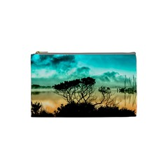 Trees Branches Branch Nature Cosmetic Bag (small)  by Celenk