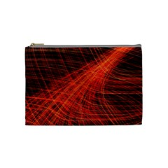 A Christmas Light Painting Cosmetic Bag (medium)  by Celenk
