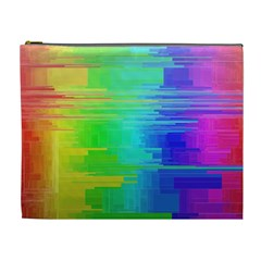Colors Rainbow Chakras Style Cosmetic Bag (xl) by Celenk