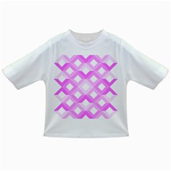 Geometric Chevrons Angles Pink Infant/toddler T Shirts by Celenk