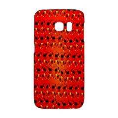 Texture Banner Hearts Flag Germany Galaxy S6 Edge by Celenk