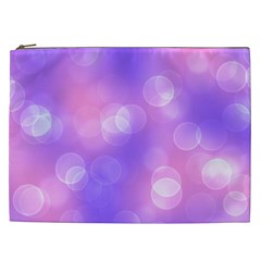 Soft Lights Bokeh 1 Cosmetic Bag (xxl)  by MoreColorsinLife
