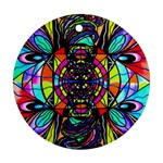 Planetary Vortex - Round Ornament (Two Sides)