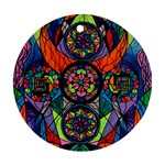 Higher Purpose - Round Ornament (Two Sides) Back