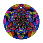 Triune Transformation - Round Ornament (Two Sides) Back