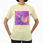 Delicate Women s Yellow T-Shirt
