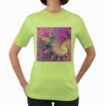 Delicate Women s Green T-Shirt