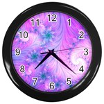 Delicate Wall Clocks (Black)