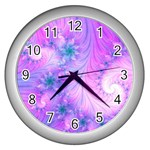 Delicate Wall Clocks (Silver)