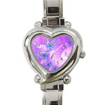 Delicate Heart Italian Charm Watch