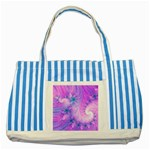 Delicate Striped Blue Tote Bag